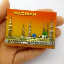 FRIDGE MAGNET TOURIST SOUVENIR FAVORITE RESIN Collect 3D-Saudi Arabia Medina