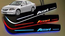 Honda Accord 08 - 12 LED Door Sill Cuff plate panel 4pcs RED,WHITE,BLUE
