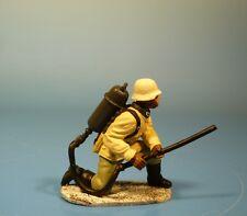 Orig. Lineol (Elastolin) - Wehrmacht - Soldat mit Flammenwerfer – 7cm Serie