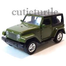 Jada Just Trucks 2014 Jeep Wrangler 1:32 Diecast Toy Car Green