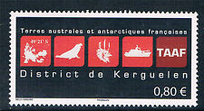 French Antarctic/TAAF 2016 District of Kerguelen 1v  MNH