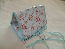 Cath Kidston Shabby Chic Pink Rose Toiletry Cosmetic Travel Bag Pouch
