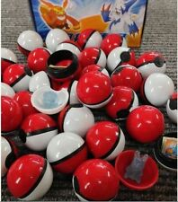 36Pcs/Lot ABS Anime action Figures Pokemon Go balls Master Ball Kids Toys