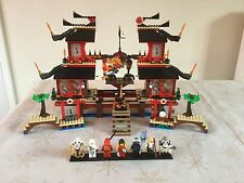 Lego Ninjago 2507 Fire Temple 100%Complete+Instruction