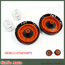 2X Crankcase Pressure Vent Regulating PCV Valve Repair Kit for BMW 14506018001
