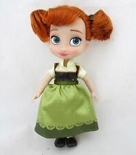 5'' Anna Frozen Princess Disney Animators' Collection Figure Mini Doll