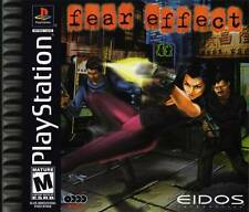 Fear Effect - PS1 PS2 Playstation Game Only