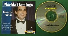 Placido Domingo Favorite Arias inc Selections from La Boheme & Lohengrin + CD