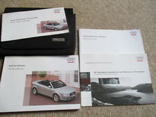 AUDI A4 B6 CABRIOLET OWNERS HANDBOOK MANUAL & WALLET 2006-2009 FAST FIRST POST