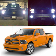 8x Premium White LED Exterior Light Package Kit for 2013-2015 RAM 1500 Sport