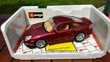 Burago Gold Collection 1/18 Porsche 911 Turbo