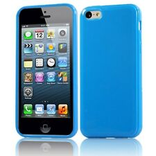Silicone Rubber Gel Case Cover For iPhone 4, 4S, 5, 5S, 5C, SE, 6, 6 +, 7, 7Plus