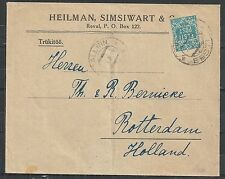 Estonia covers 1919 Firmcover Reval to Rotterdam