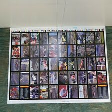 Formula 1 Racing Cards Uncut Sheet Set, Sheet #4 (151 to 200) Dec. 1991, 474