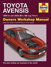 Haynes Owners Workshop Manual Toyota Avensis Petrol (98-03) SERVICE REPAIR