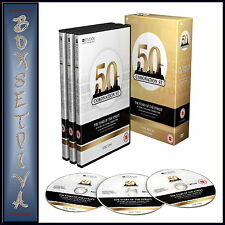 THE STARS OF CORONATION STREET- 50 YEARS **** BRAND NEW DVD BOXSET***