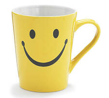 Big Smiley Face Yellow Ceramic Mug