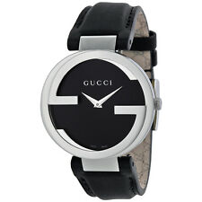 Gucci Interlocking Logo Stainless Steel Ladies Watch YA133301