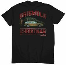 Men's CHRISTMAS VACATION T-Shirt SMALL S NEW Griswold Christmas Car with Tree
