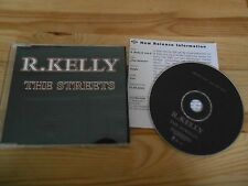 CD Hiphop R.Kelly - The Streets (1 Song) Promo JIVE REC + presskit