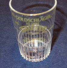 Bailey's & Goldschlager - The Original Oatmeal Cookie - Plastic shot glass...NEW