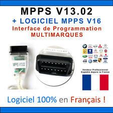 ★ EXCLUSIVITE ★ Câble / Interface MPPS V13.02 + Logiciel MPPS V16  Flash TUNING