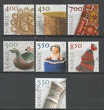˳˳ ҉ ˳˳NO03 Norway Norge Complete sets 2001-03 different Crafts