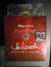 Cars Director's Edition (Blu-ray/DVD, 2011, 11-Disc Set, With Die-Cast Car)