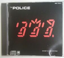 The Police  Ghost In The Machine  CD Francia