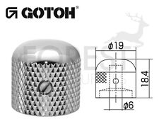 Gotoh VK1-19 dome metal Knob chrome 19mm