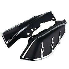Hot Motorcycle Motorbike AirMaster Mid-Frame Air Deflector Black For Harley