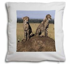 Cheetahs on Watch Soft Velvet Feel Scatter Cushion Christmas Gift, AT-25-CPW