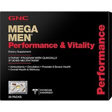 GNC Mega Men Performance  Vitality - 30 Packs