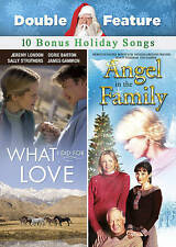 Angel in the Family / What I Did for Love with Bonus MP3,New DVD, Sally Struther