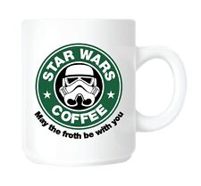 Star Wars, Starbucks Coffee parody MUG. Ceramic / Dishwasher proof