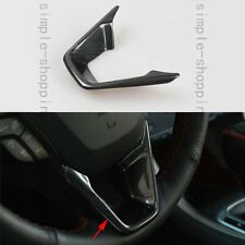 Carbon Fiber Color Steering Wheel Cover Trim  For Ford Fusion Mondeo 2013-2015