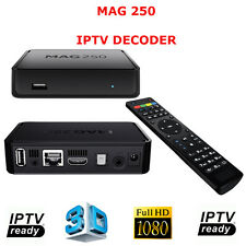MAG250 DECODER IPTV HDTV 1080P HDMI STREAMING TV HD BOX MEDIA PLAYER USB MAG 250