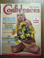 CONFIDENCES 1179 (28/6/70) FRANCE GALL