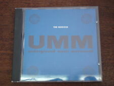 UMM Underground music movement - The remixes- Compilation CD