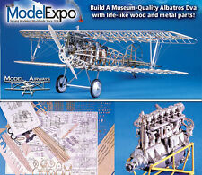 Model Airways Red Baron's Albatros 1:16 Wood/Metal Kit Sale Save 46% + Free Ship