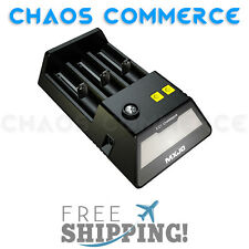 MXJO CC1 Intelligent 3 Slot LCD Charger |18350 18500 18650 26650 Battery Charger