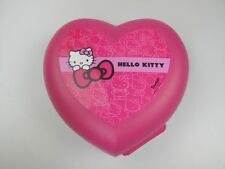 TUPPERWARE Vesperbox Hello Kitty pink Kinder Herz Dose Behälter Box Brotdose