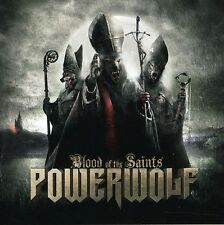 Blood Of The Saints - Powerwolf (2011, CD NUOVO)