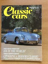 Classic Cars Magazine December 1987 Porsche 356