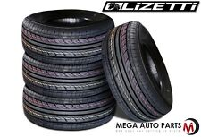 (4 NEW) Lizetti LZ-ES1 185/60R14 82H Extra Value All Season Performance Tires