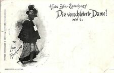 Judaika, Affaire Zola-Esterhayz, Die verschleierte Dame, 1898