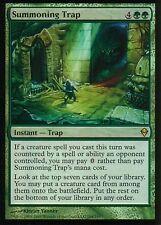 Summoning trap foil | nm | Zendikar | Magic mtg