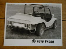 "SKODA BEACH BUGGY ORIGINAL PRESS PHOTO "" BROCHURE."" 2 jm"