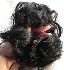 Elastic Scrunchie Hair Curly Bun Hair Piece Hair Extension Over 30 COLOURS