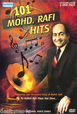 101 MOHD. (MOHAMMED) RAFI HITS - BOLLYWOOD MUSIC 3 DVD SET - FREE POST